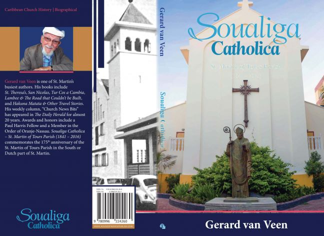 "Soualiga Catholica by Gerard van Veen. On May 18 it's the book party but in June it's a workshop by the author: ""Tips, truths, and touchy topics – Writing a book about your church history."""