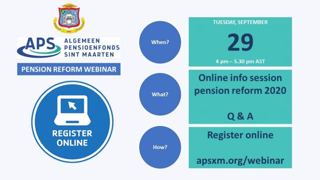 APS and Government to host webinar on impact of pension reform September 29