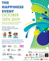 MHF presents First Happiness Event Edition on October 10