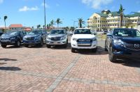 New vehicles for Ministry VSA at the parking lot, Government Administration Building, Pond Island.