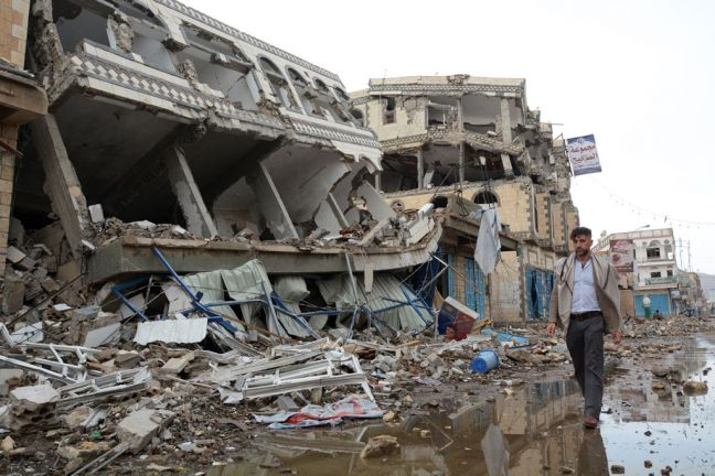 The city of Sa'ada in the Sa'ada Governorate has been heavily hit by airstrikes during the conflict in Yemen (file). Photo: OCHA/Philippe Kropf