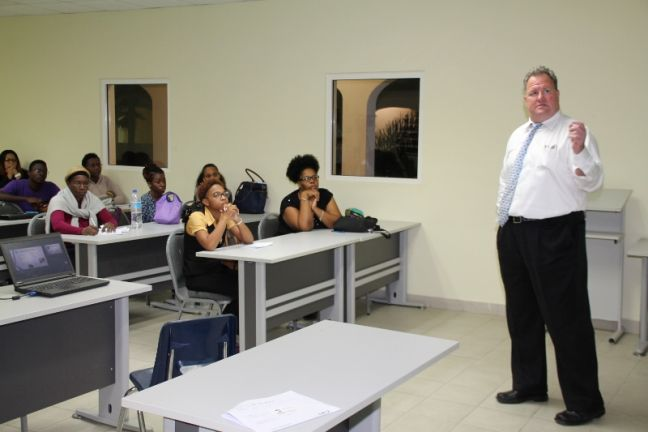 Jeffrey Greenip, Director of Enrollment Management and Admissions of Keiser University