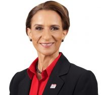President of Parliament, MP Sarah Wescot Williams