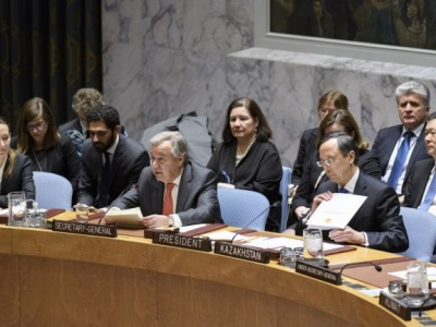 UN chief spotlights potential offered by cooperation among countries of Central Asia and Afghanistan