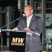 Prime Minister Marlin speaks at Official Opening of New Motorworld Showroom