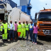 Two new Garbage Trucks Arrive for the Ministry of VROMI