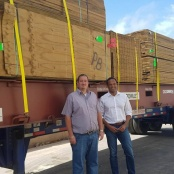 Building materials and durable goods for Saba have arrived
