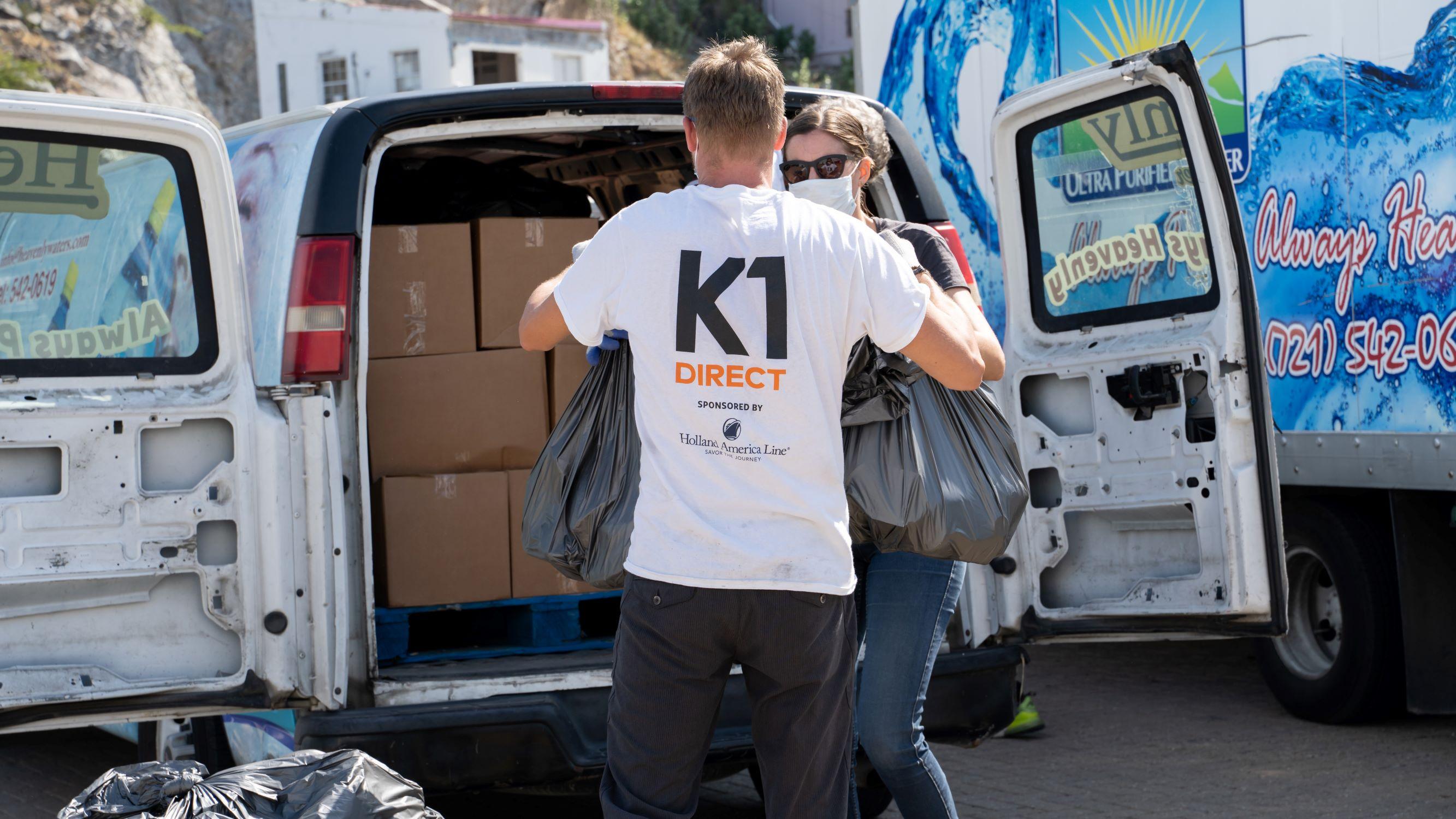 K1 DIRECT COVID 19 Food Hygiene Packages Senior Distribution INS2
