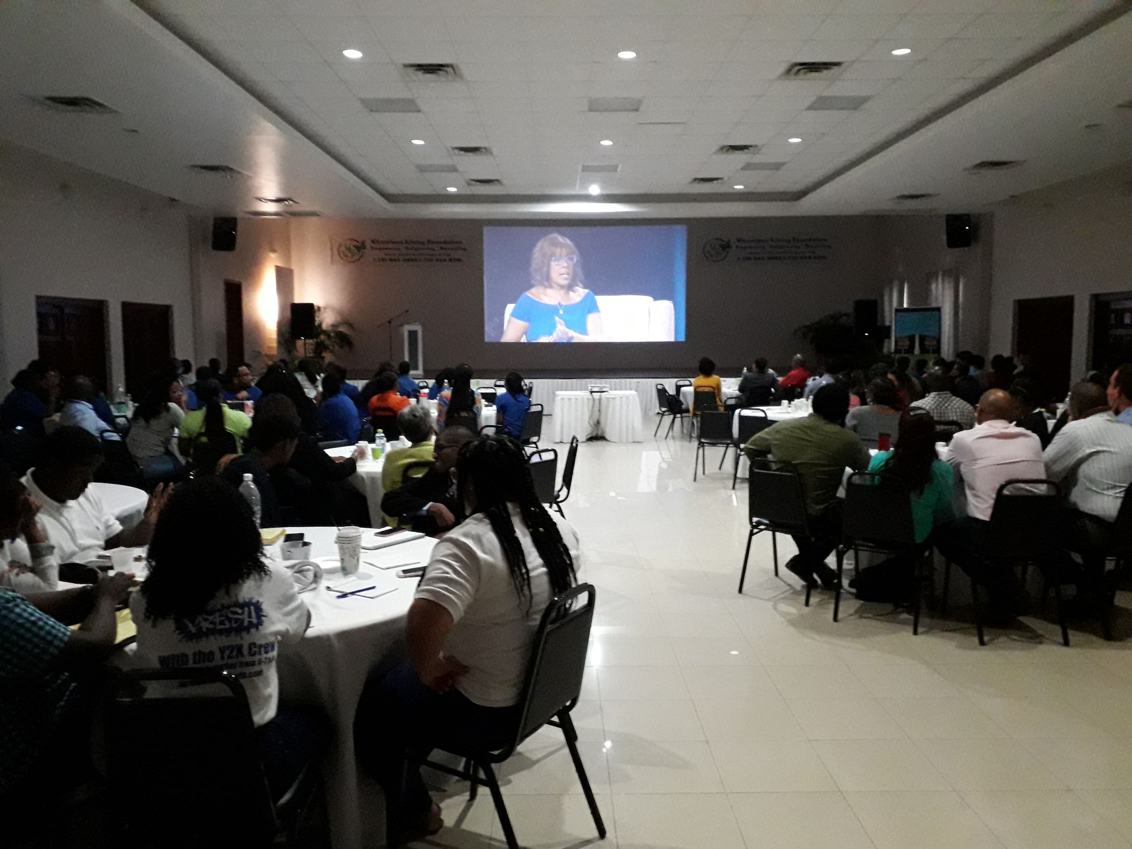 LEAD Participants Engaged at Leadercast 2019 with Gayle King INS1