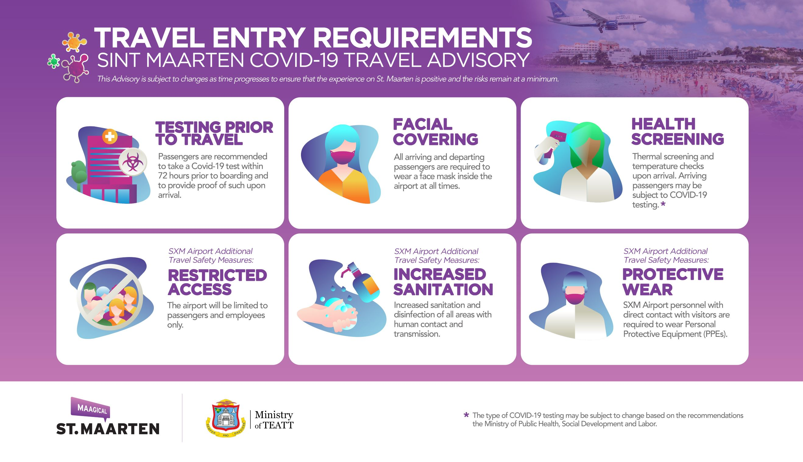 Travel Entry Requirements for St. Maarten