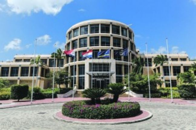 CBCS headquarters, Willemstad, Curacao.