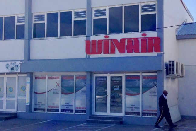WINAIR headquarters, Philipsburg, Sint Maarten.