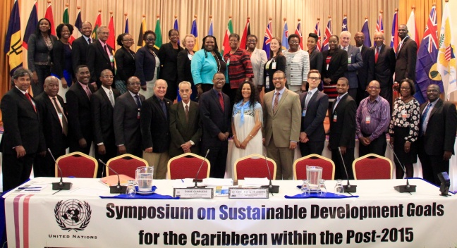 Delegates from Caribbean countries including Drs. L. Morales from Sint Maarten (seventh from right front row). Photo contributed