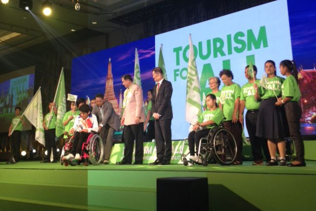 World Tourism Day 2016 - Tourism for All. Promoting Universal Accessibility 27 September, Bangkok, Thailand. Photo: UNWTO