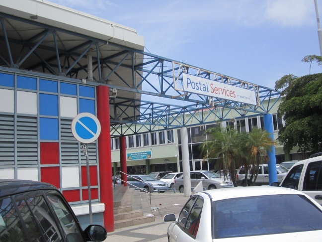 Postal Services of St. Maarten (PSS) (Souaiga Newsday Photo)