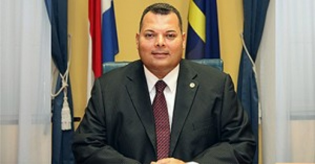 Curacao Prime Minister Hon. Ivar Ajes (Photo Curacao Chronicle)