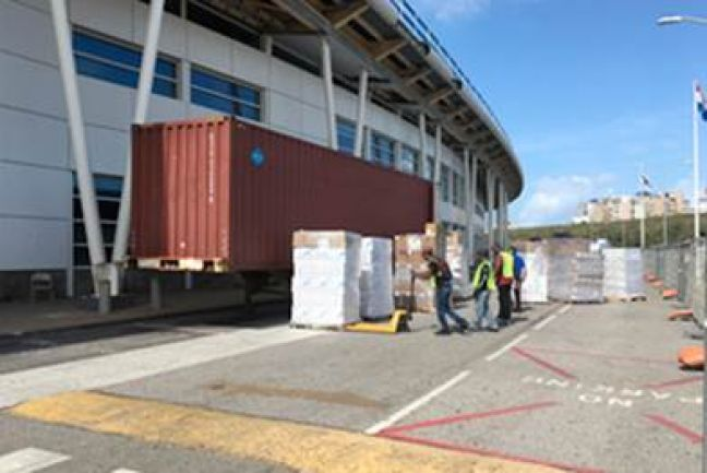 "File Photo of ""Package One"" reconstruction at the SXM Airport in 2018."