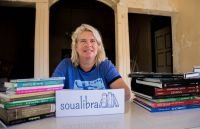 Susanne van Mierlo is Soualibra's head librarian.