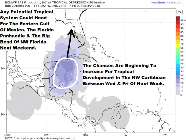 WEATHER WATCH: Tropical Storm Alberto in the making?