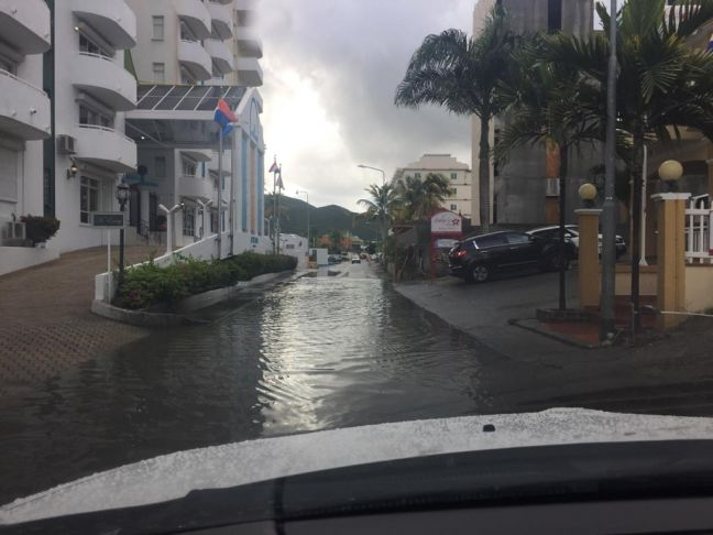 A flooded Billy Folly road when it rains. (Photo provided)