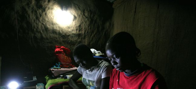 EDP - ENERGIAS DE PORTUGAL SA A green energy project is bringing electricity to the Kakuma Refugee Camp in Kenya.