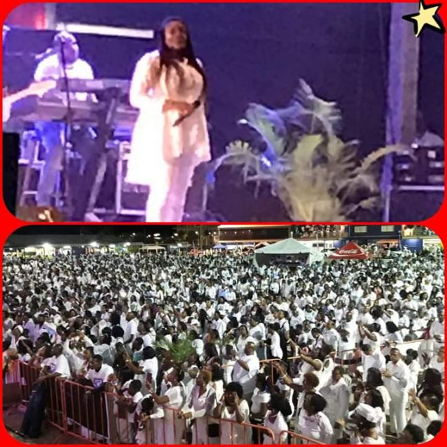 Sinach Gives Electrifying Performance