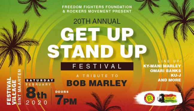 20th ANNUAL GET UP STAND UP FESTIVAL RETURNS WITH THEIR VIBE, SPIRIT, AND CELEBRATION OF ONENESS ON FEBRUARY 8