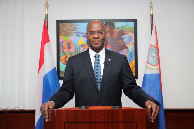 His Excellency Governor Eugene Holiday (file photo)