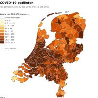 Covid patients per 100,000 people
