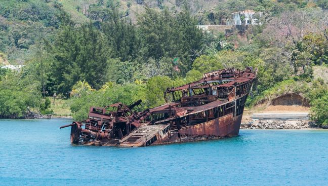 A boat wreck. (file photo)