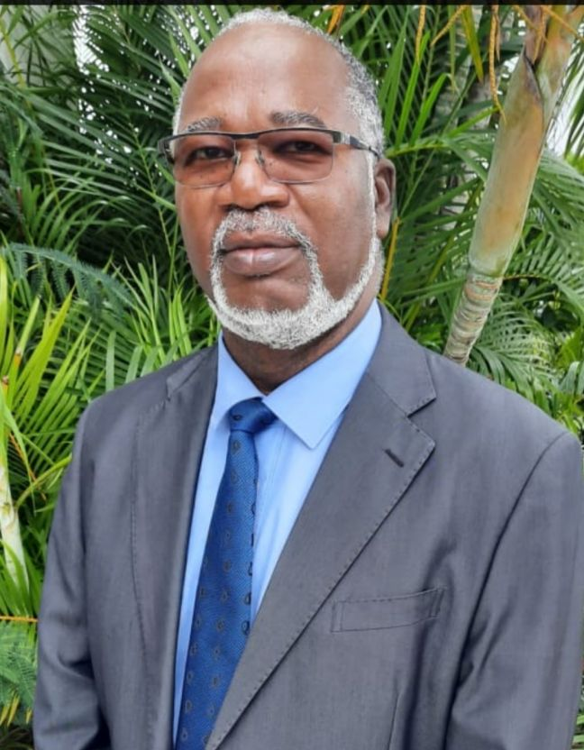 Opposition Leader in the Territorial Council Louis Mussington, and leader of the Movement for Justice & Prosperity (MJP)