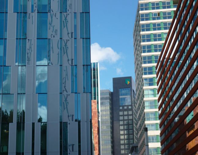 ABN Amro is based in Amsterdam's Zuidas business district. Photo: DutchNews