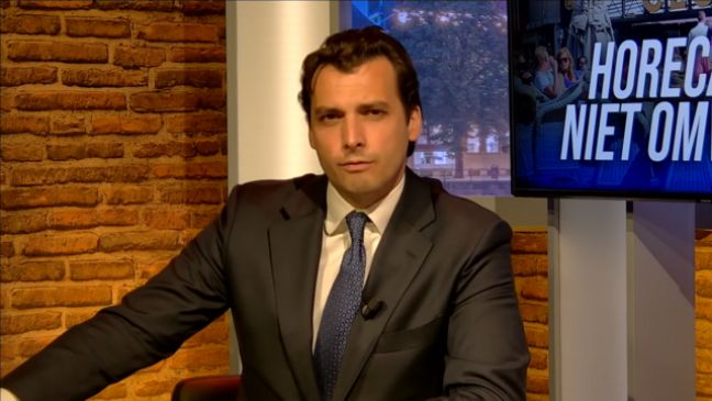 Thierry Baudet. Photo: Forum voor Democratie via Wikimedia Commons