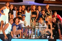 MPC students erupt in joy when it was announced at the overall winner of Talent Showdown 2014.