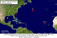 WEATHER WATCH: Tropical depression 12 heading west towards Lesser Antilles