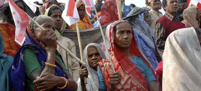 UN Photo/Agnieszka Mikulska Members of the Madheshi community of Biratnagar attend a political rally to demand autonomous federal regions and greater representation in parliament. (2008)
