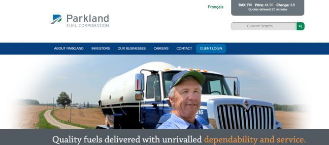 PARKLAND FUEL CORPORATION TO ACQUIRE 75% OF SOL