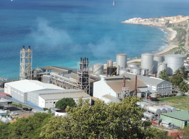 NV GEBE Cay Hill Power Plant (file photo)