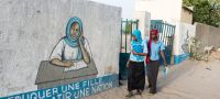 UN Photo/Eskinder Debebe Young women return home after classes in the town of Bol in Chad.