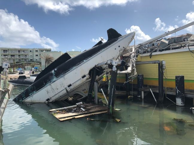 Nature Foundation has serious concerns over abandoned vessels. (Photo contributed)