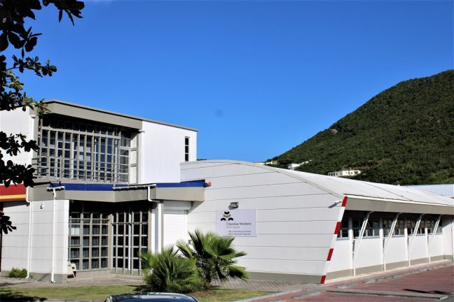 OM Philipsburg Office, Sint Maarten (file photo)