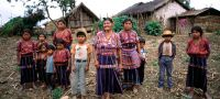 UN Photo/F. Charton A Cakchiquel family in the hamlet of Patzutzun, Guatemala.