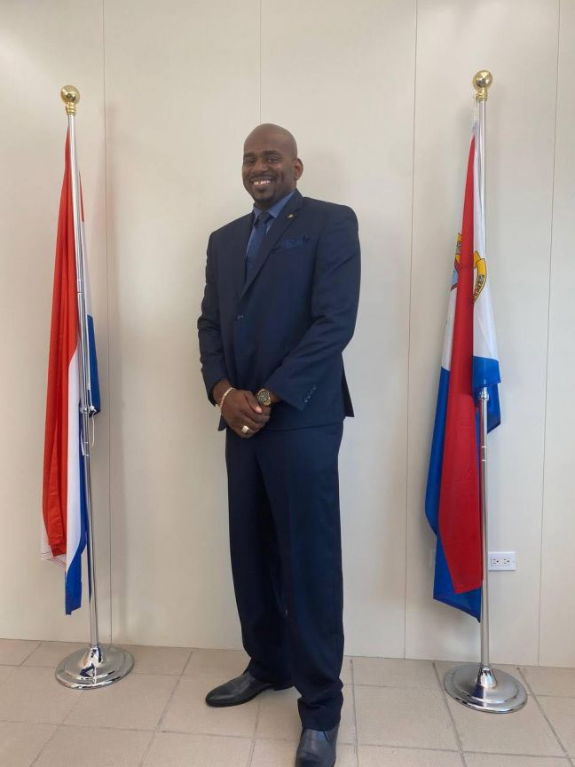 Minister of VSA Omar Ottley