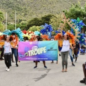 White & Yellow Cross celebrates Carnival 2021 with Vaccinated Pfizer Troupe