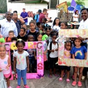 Saba hosts Successful Children Rights Festival