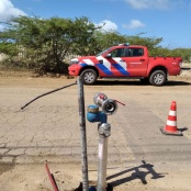 BKCN checking fire hydrant operational status
