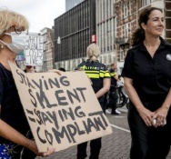 Amsterdam mayor under fire for not intervening at anti-racism demo