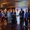 MSC Magnifica Host Plaque Exchange in Second Cruise Ship Inaugural Call for the New Year