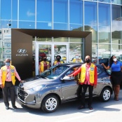 Lions Club Hosts Fundraising Raffle of Hyundai Grandi10 Sponsored In-Part by Motorworld