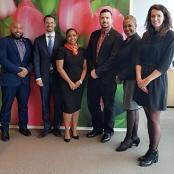 Johnson talks marketing/cooperation with the Netherlands Tourism Bureau